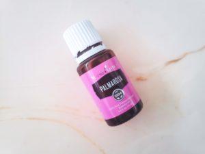 Young Living Palmarosa Essential Oil bottle, DIY Body Cream Recipe